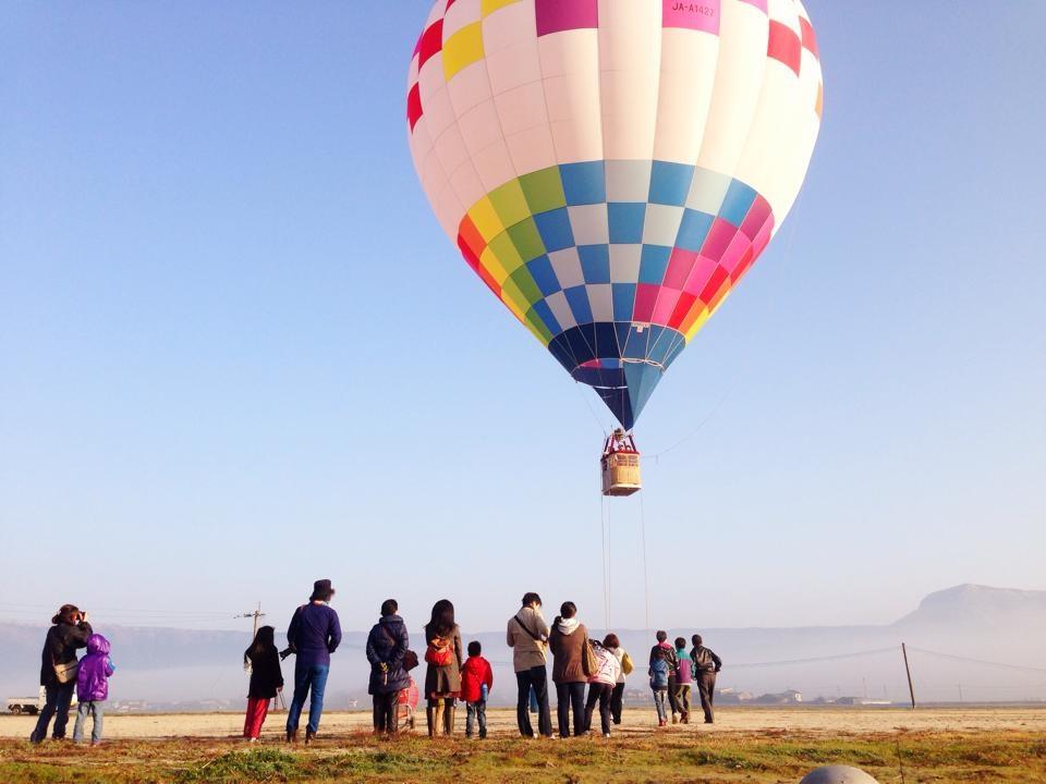 朝の絶景を楽しもう! 早朝 熱気球体験イメージ