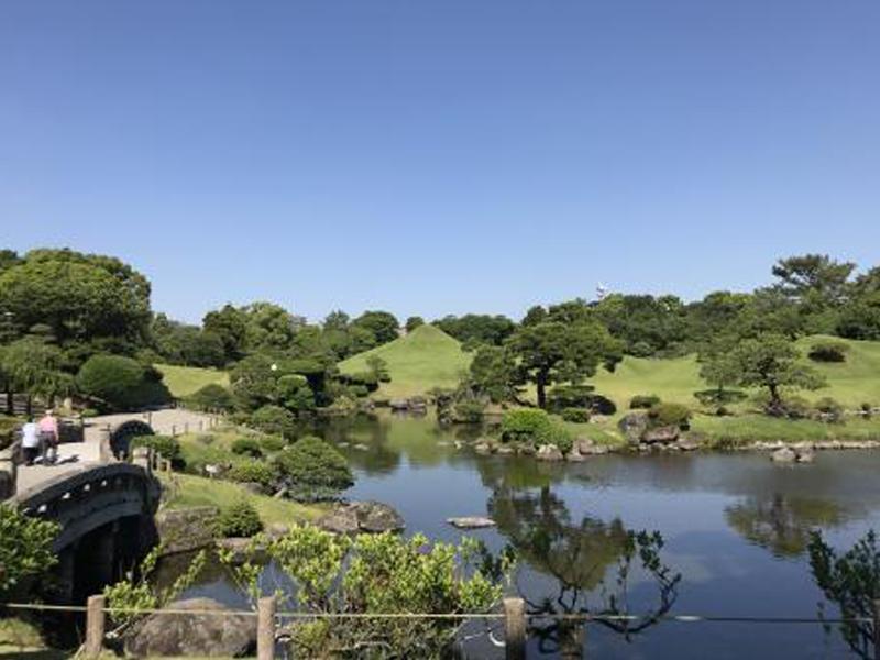 熊本王道2大スポット!水前寺成趣園と復興のシンボル熊本城 (わくわく1dayパス付)イメージ