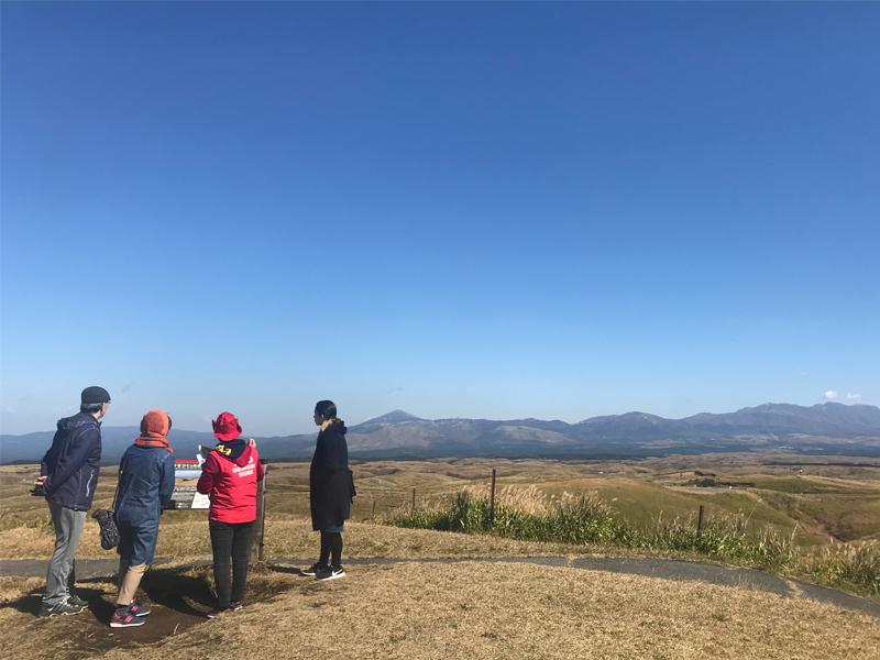 ジオガイドと行く カルデラの成り立ちを感じる大観峰[Aコース]イメージ