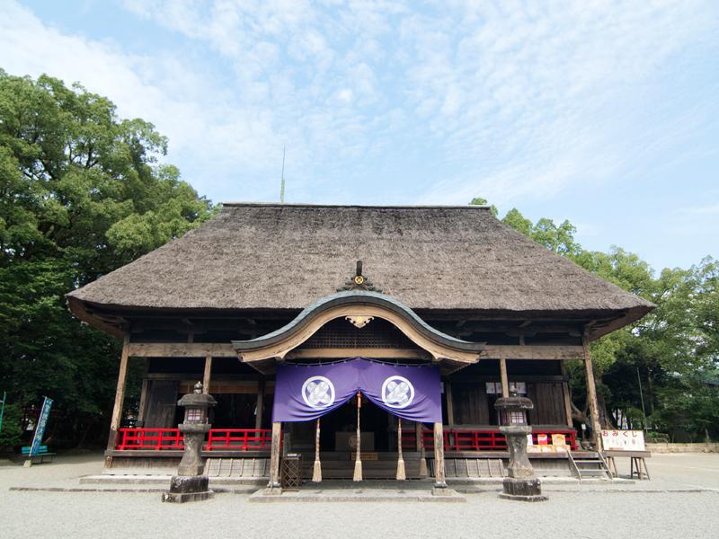 国宝青井阿蘇神社特別参拝イメージ