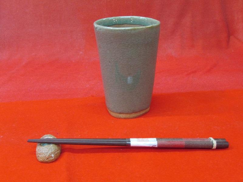 陶芸体験 ビアカップ作り(箸置き1個付き)イメージ