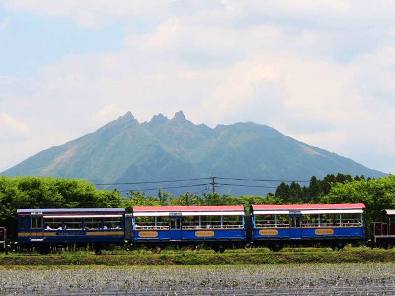 南阿蘇鉄道ゆうすげ号 トロッコ列車優先予約チケット (14:45発 / 8号⇔9号)イメージ