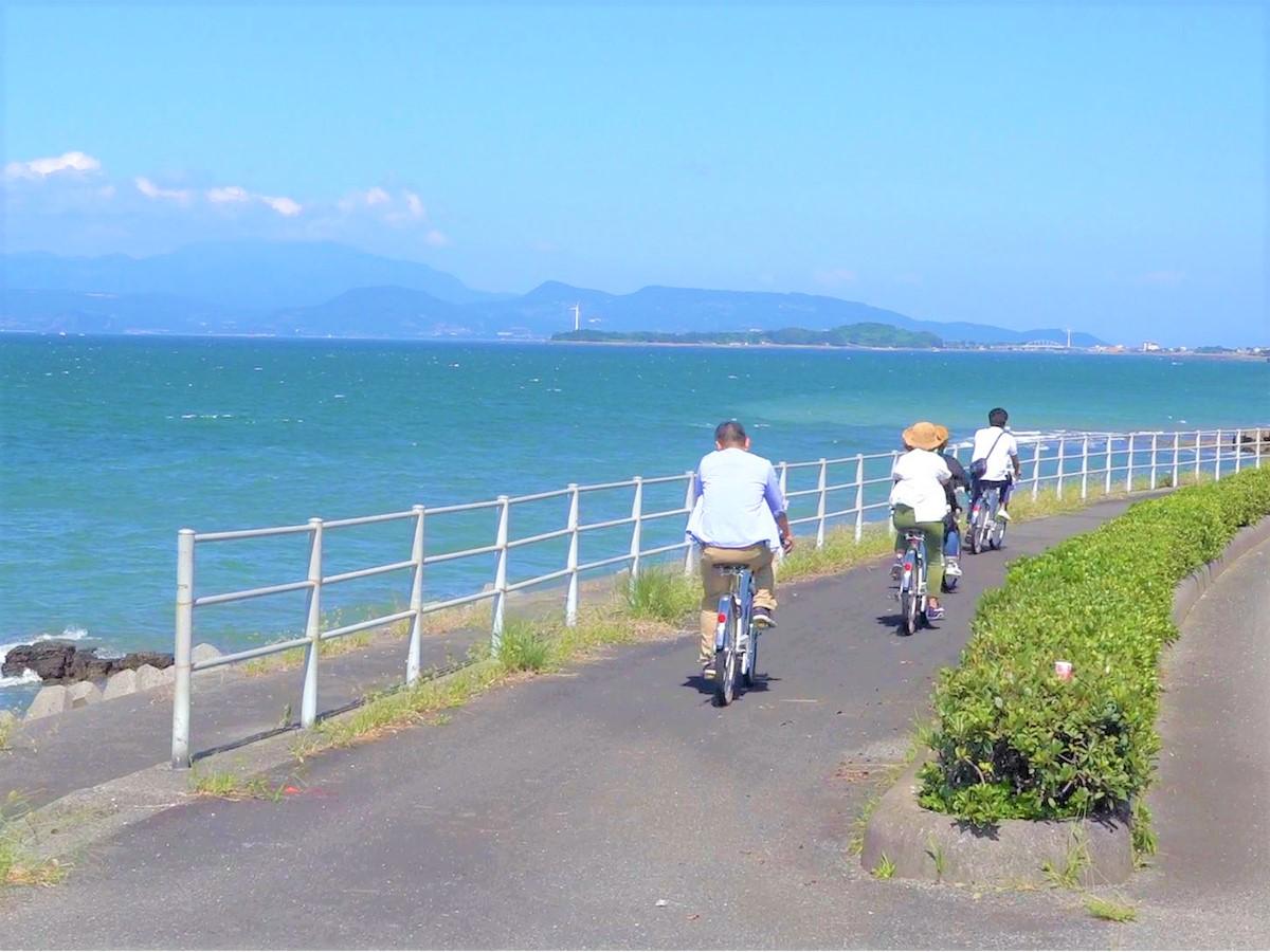 電動アシスト付き自転車で行く ガイド付きご利益&スイーツめぐりイメージ