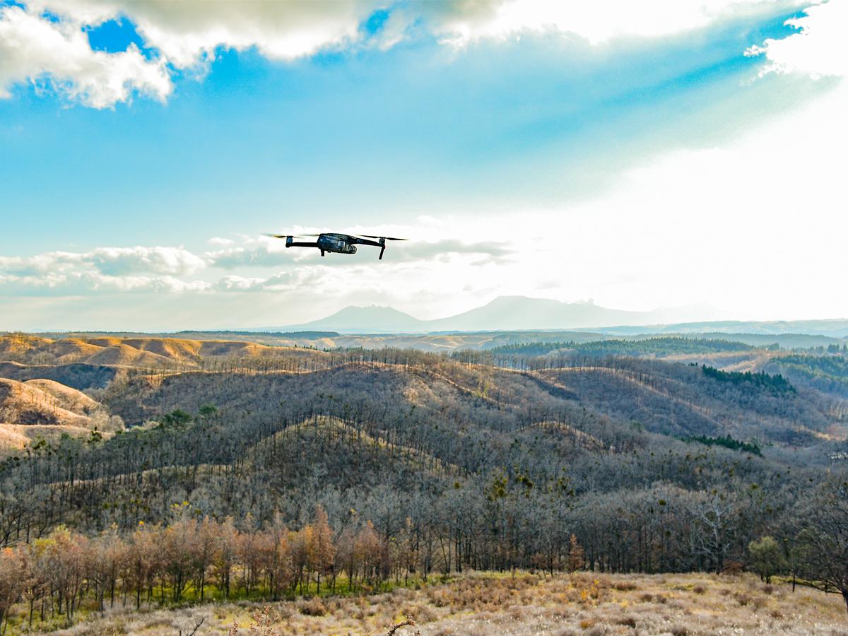 初めてでも楽しめる 南小国町ドローン操縦体験(10:00)イメージ