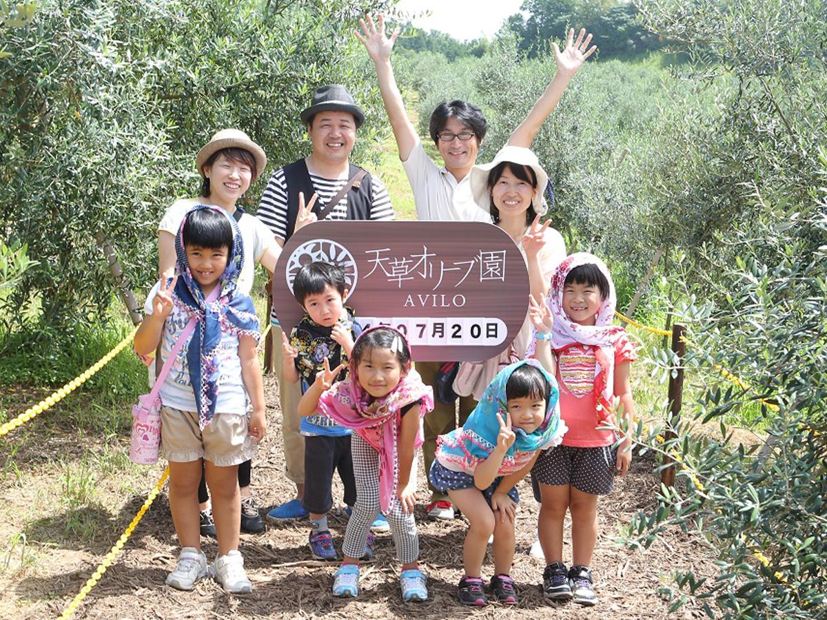 天草オリーブ園AVILO オリーブ体験ツアー -オリーブ手絞りとオリーブオイルテイスティング-イメージ