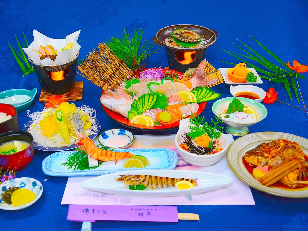 松島観光ホテル岬亭 シーフードより刺身よねプランイメージ